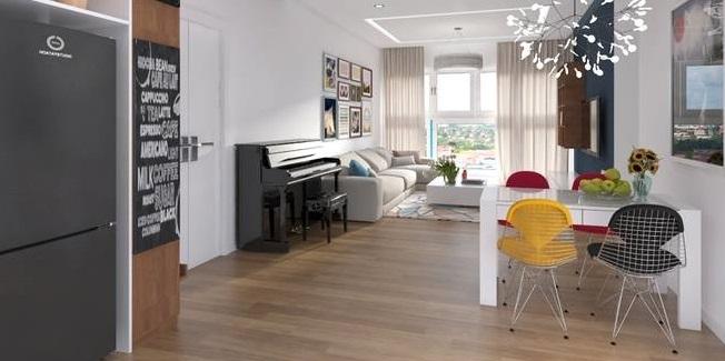 Sàn gỗ Malaysia mang đến cho không gian nhà sự sang trọng, hiện đại, tiện nghi